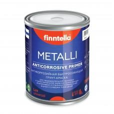 Грунт-краска алкидная METALLI Универсал ANTICORR Полуматовая (база А)
