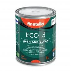 Краска ECO_3 wash and clean (моющаяся ) матовая (база А)