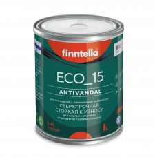 Краска ECO_15 ANTIVANDAL Антивандальная полуматовая (база А)