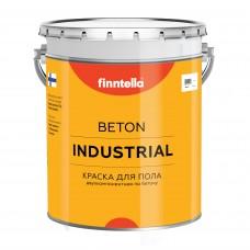 Эпоксидная краска для бетонных полов FINNTELLA® BETON INDUSTRIAL (база А) Глянцевая