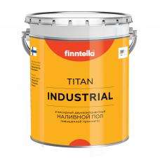Эпоксидный наливной пол FINNTELLA® TITAN INDUSTRIAL (база А) Глянцевый, 7,5л + 2,58л (комплект 14,43 кг)