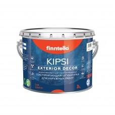 Штукатурка декоративная FINNTELLA® LUX KIPSI Exterior крупная фракция