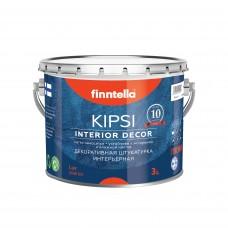 Штукатурка декоративная FINNTELLA® LUX KIPSI Interior