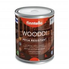 Пропитка акрилатно-алкидная по дереву FINNTELLA® WOODDI LUX Антисептическая пропитка (база ЕС)